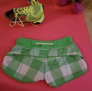 lululemon athletica Shorts - Lululemon Rare speed up shorts